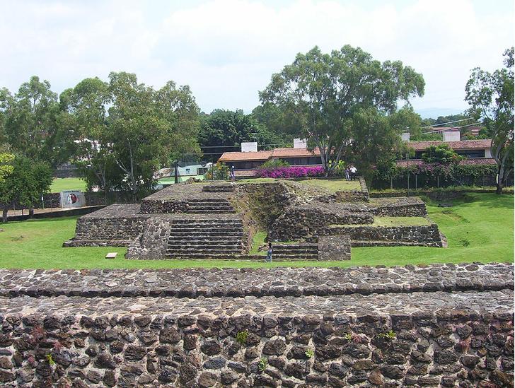 Фото №1 - В Мексике внутри пирамиды обнаружен новый храм ацтеков