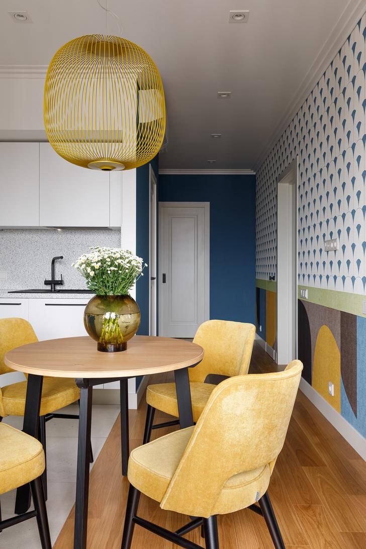 Фото №10 - Квартира молодой девушки в стиле mid-century modern 68 м²