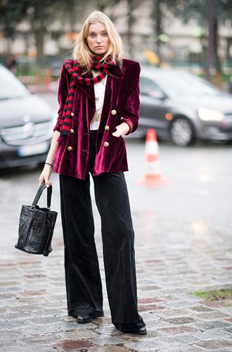 Фото №2 - Velvet dreams: учимся носить бархат правильно