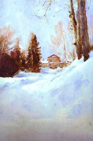 Фото №10 - В ожидании снега: самые красивые зимние пейзажи с полотен великих художников