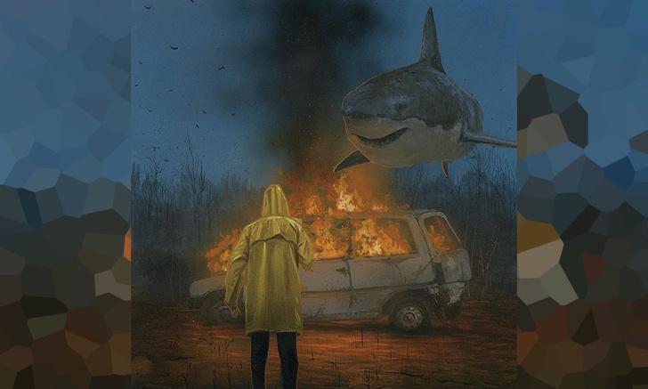 Фото №1 - Художник недели: заклинатель акул и прочей лесной живности Крис Остин