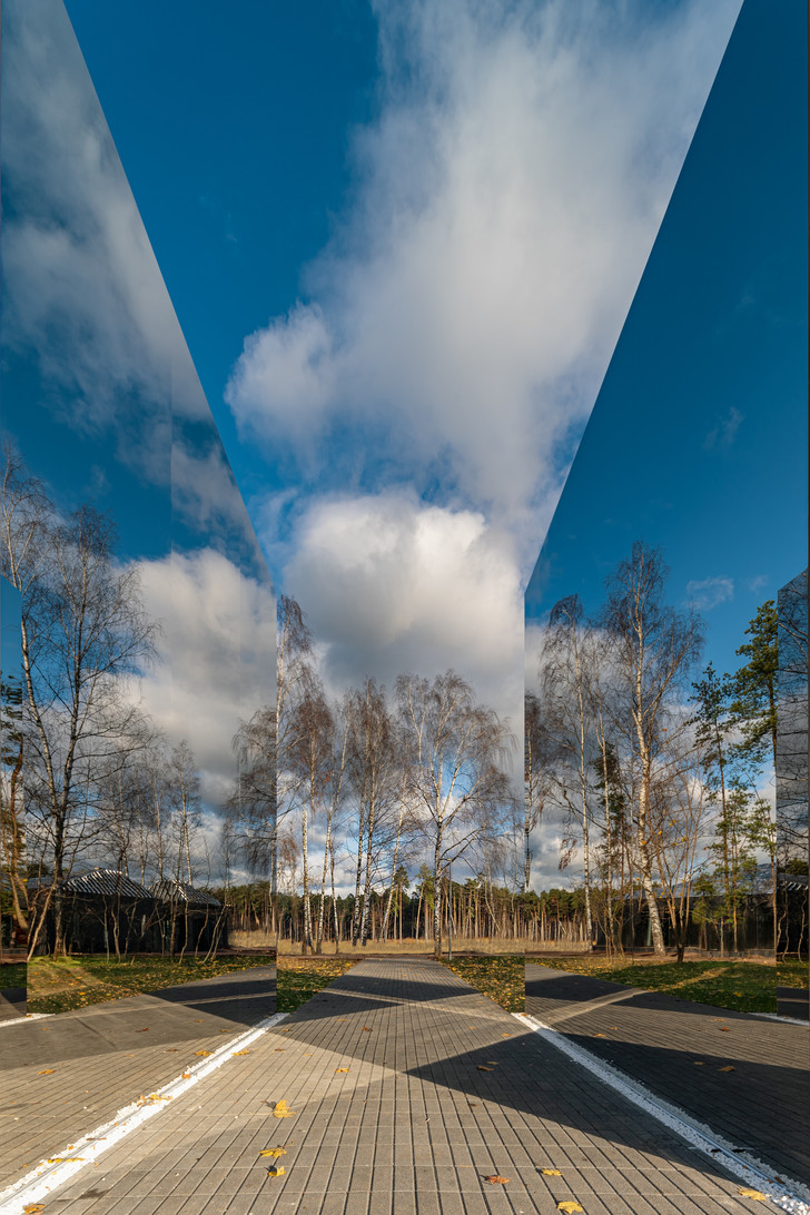 Фото №2 - Зеркальный черный квадрат в парке имени Казимира Малевича