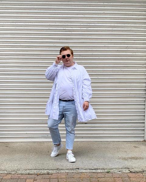 Фото №4 - Что носить летом парням plus size: 10 модных образов