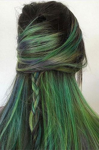 Фото №15 - Бьюти-тренд: разноцветные волосы