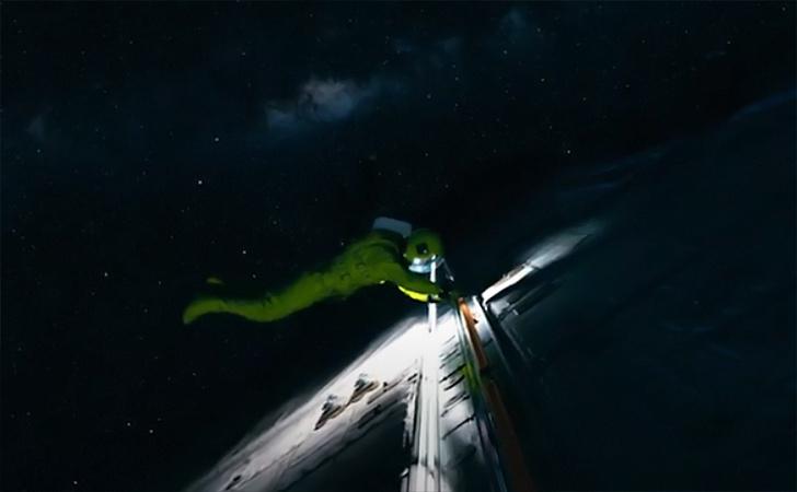 Фото №1 - Трейлер космофантастики с Колином Фарреллом «Поколение Вояджер»