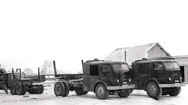 В пару к базовому НАМИ-012 построили еще и полноприводной НАМИ-018. Но в серию они не пошли вместе…
