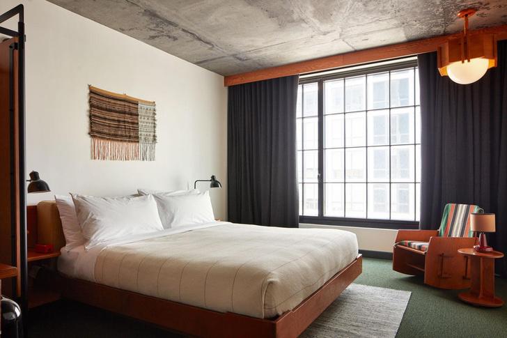 Фото №4 - Новый Ace Hotel в Бруклине с коллекцией текстильного искусства