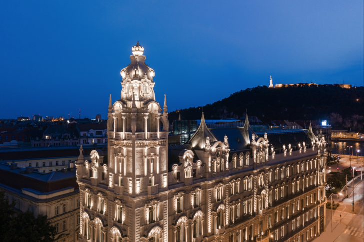 Фото №1 - Обновленный отель-дворец Matild Palace в Будапеште