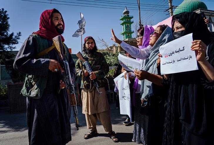Фото №9 - Что за месяц сделали талибы с Афганистаном (красноречивые фото)