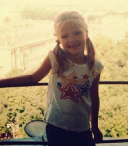 Саша Лусс в детстве