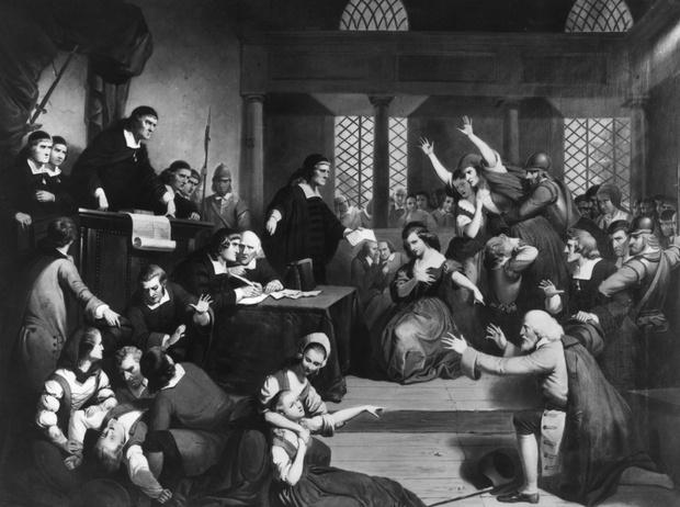 Фото №1 - Одержимые дьяволом или жертвы безумной толпы: настоящая история «салемских ведьм»