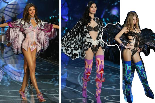 Фото №6 - Самые красивые образы с показа Victoria's Secret