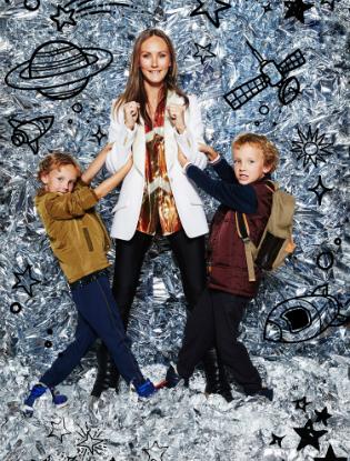 Фото №9 - Звездные мамы и дети в лукбуке H&M Studio Kids