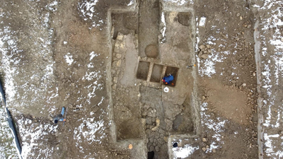 Фото №1 - В Керчи обнаружена древняя винодельня