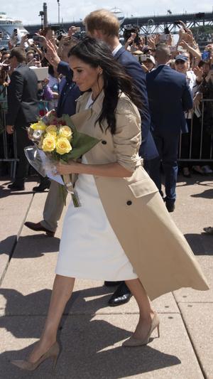 Фото №4 - Дипломатия стиля: 8 случаев, когда Меган делала заявления при помощи моды