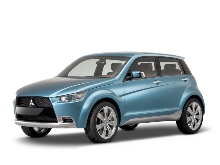 Концепт-кар Mitsubishi cX, с которого и начался уже весьма продолжительный жизненный путь серийного ASX