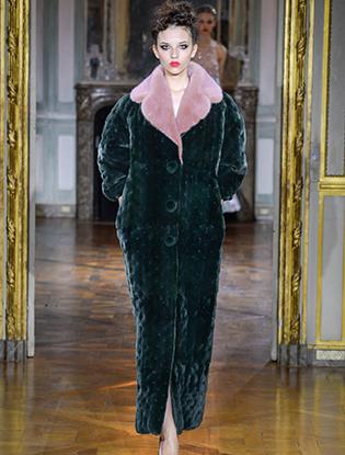 Фото №13 - Неделя Высокой моды в Париже: Ulyana Sergeenko Couture F2015