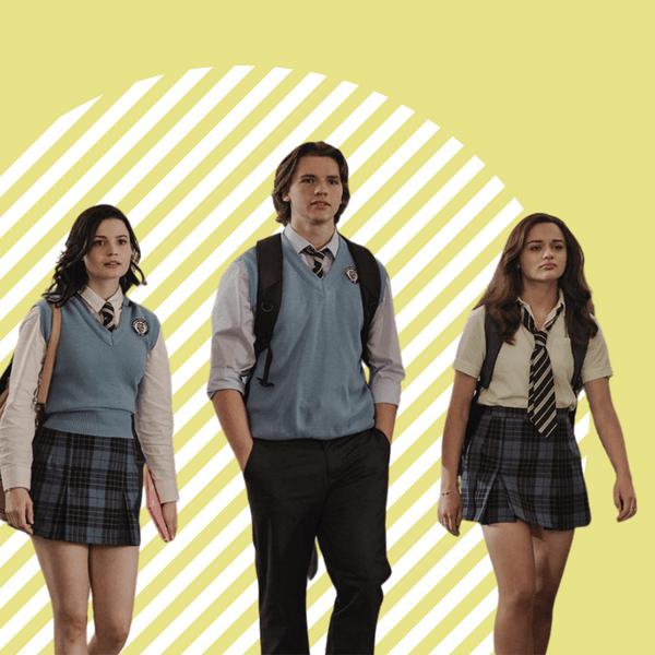 Фото №1 - В стиле преппи: Netflix напоминает, что школьная форма может быть классной