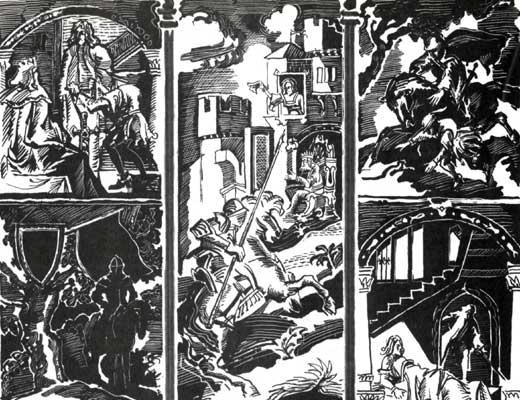 Фото №1 - Приключения короля Артура и рыцарей Круглого Стола. Роджер Ланселин Грин