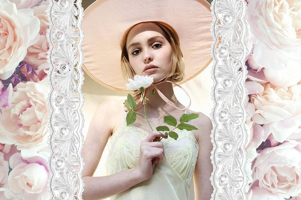Лили-Роуз Депп для Oyster Magazine