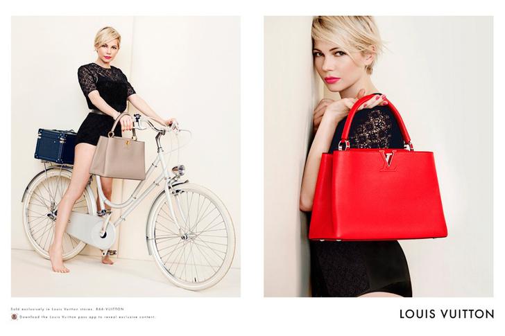 Мишель Уильямс (Michelle Williams), Louis Vuitton