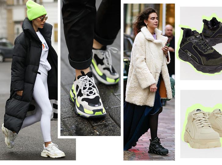 Фото №1 - Модно и тепло: где искать стильные кроссовки для зимы