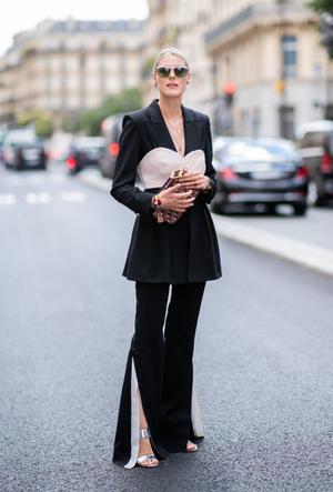 Фото №14 - С чем носить черный пиджак: 8 нескучных идей