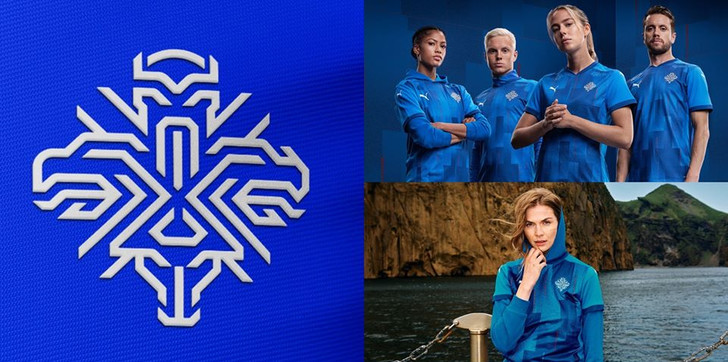 Фото №1 - Что зашифровано в новом логотипе сборной Исландии по футболу
