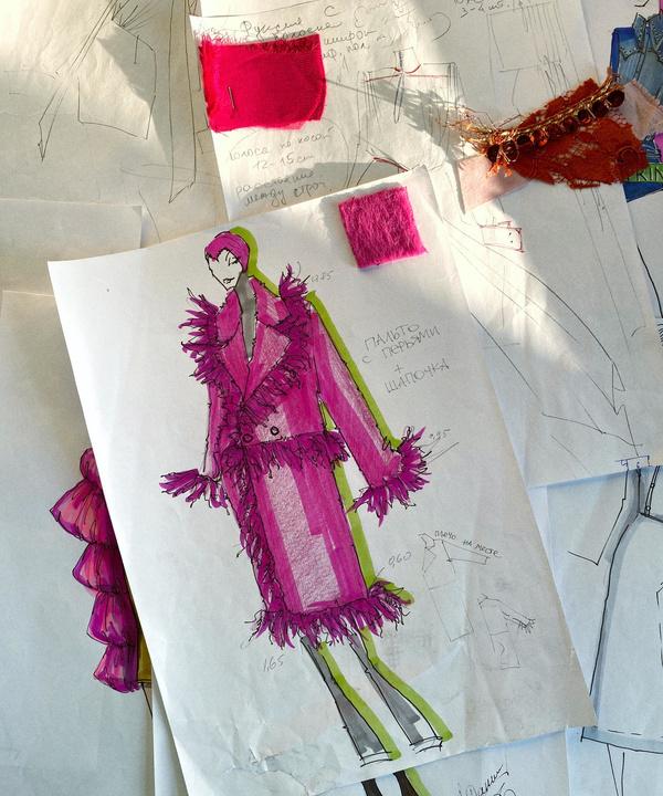 ELLE Digital Fashion Week: коллекция Daniil Antsiferov осень-зима 2020