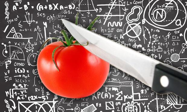 Фото №1 - Как правильно резать помидоры с точки зрения физики