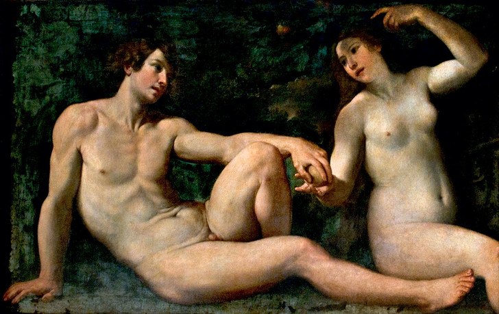 Фото №13 - Галерея: как изображали Адама и Еву последние  2000 лет