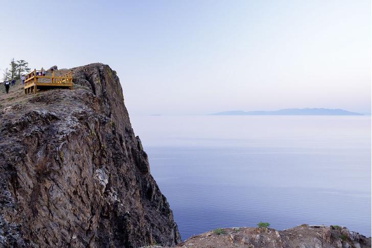 Фото №1 - Экскурсия на озеро Байкал. Часть 4:  Мыс Хобой