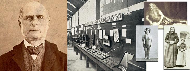 Фрэнсис Гальтон и его лаборатория намеждународной выставке здоровья