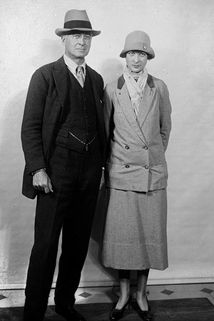 Бернард Барух с дочерью Белль