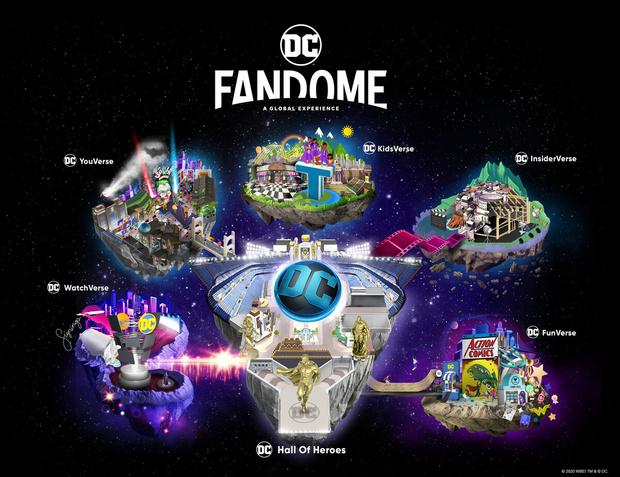 Фото №2 - Warner Bros анонсировали 24-часовую онлайн-вечеринку для всех фанатов вселенной DC