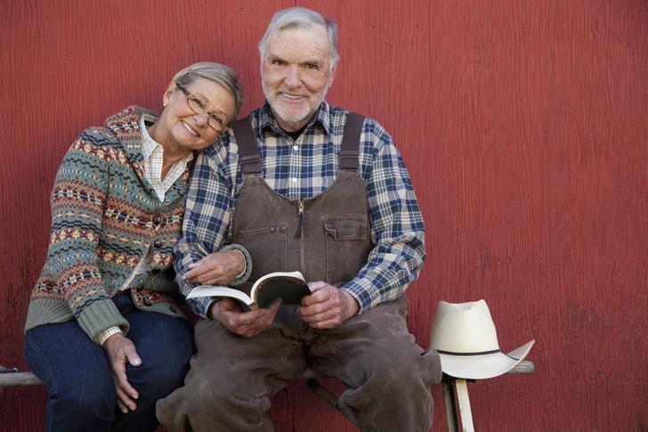 Фото №1 - Бабушка всегда гладила одежду деду, хотя он был фермером