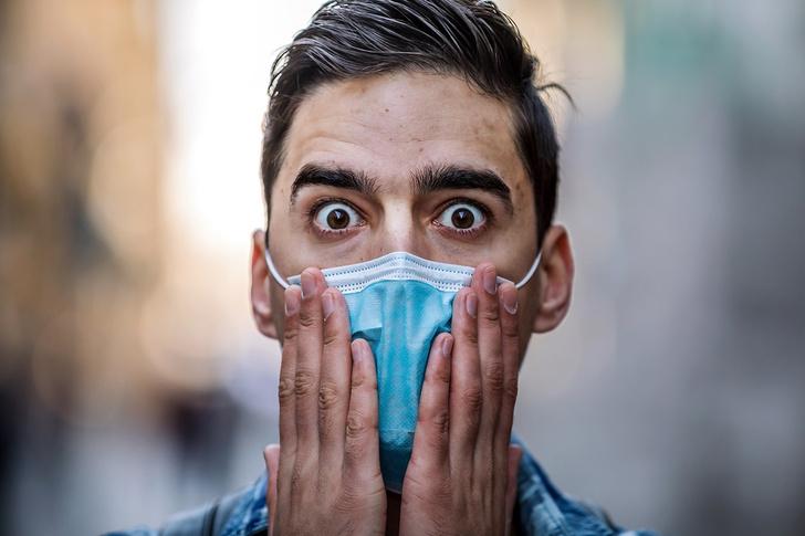 Фото №1 - 4 вредных последствия ношения масок и как их избежать
