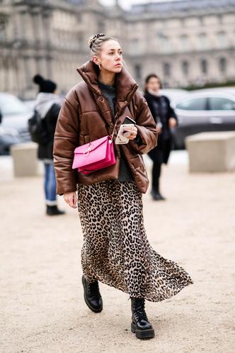 Фото №9 - Inspiration: смотри, с чем носить дутую куртку зимой 2020-2021