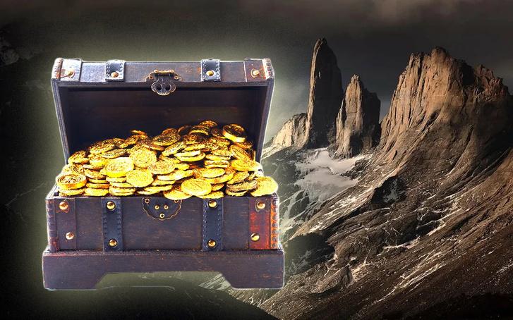 Фото №1 - 10 лет назад мужчина спрятал клад стоимостью более $1 000 000, зашифровав путь к нему в стихотворении. И вот клад найден