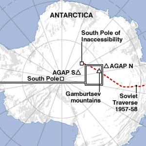 Фото №1 - Тайны Антарктиды