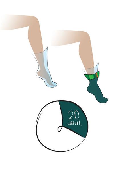 Маска-обертывание для ног Power Socks, La Ric.
