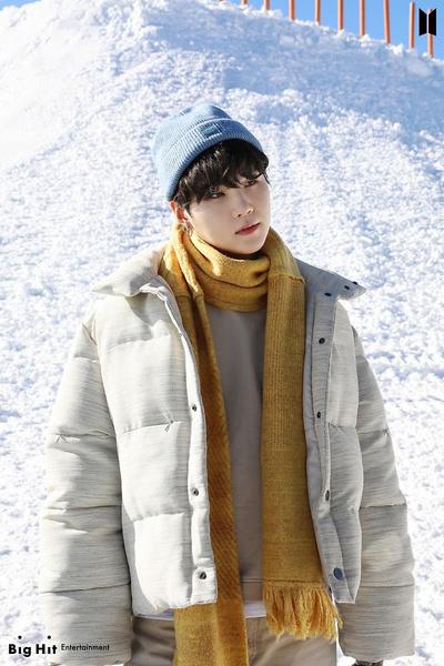 Фото №14 - Снежные ангелы: Big Hit Entertainment выложил 65 новых фото BTS 😍