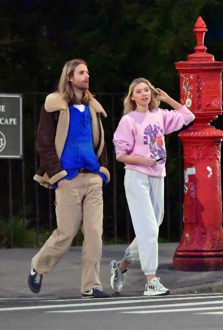 Эльза Хоск и Том Дейли в Нью-Йорке