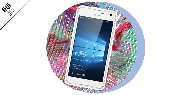 Фото №1 - Вещь дня: Смартфон для стильных – Microsoft Lumia 650