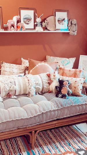 Фото №2 - Скорее смотри! Джиджи Хадид впервые показала детскую комнату своей дочери