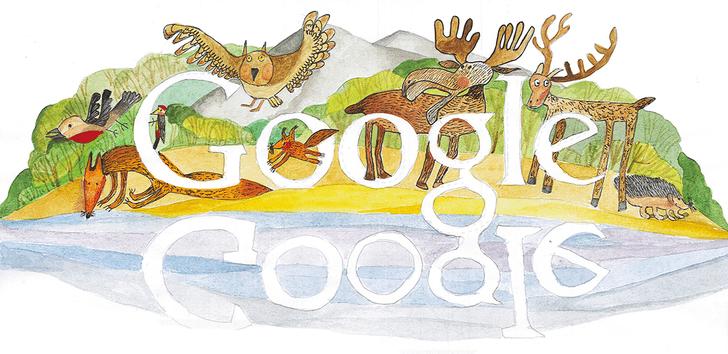 Фото №7 - «Дудл для Google — 2015»: 30 лучших рисунков