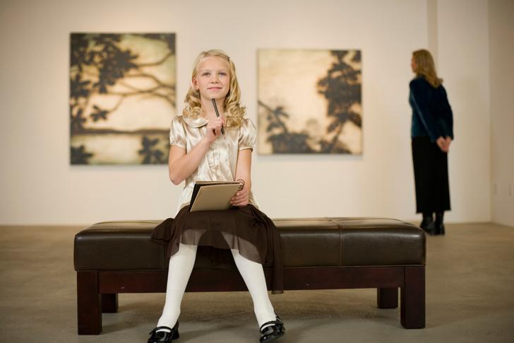 Фото №1 - 4 причины подружить ребенка с искусством