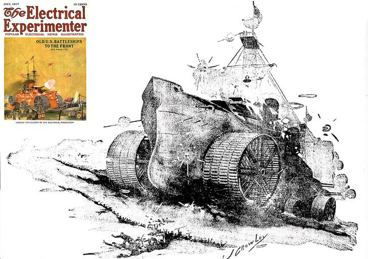 Фото №10 - Прототанки: самые сумасшедшие танки в истории
