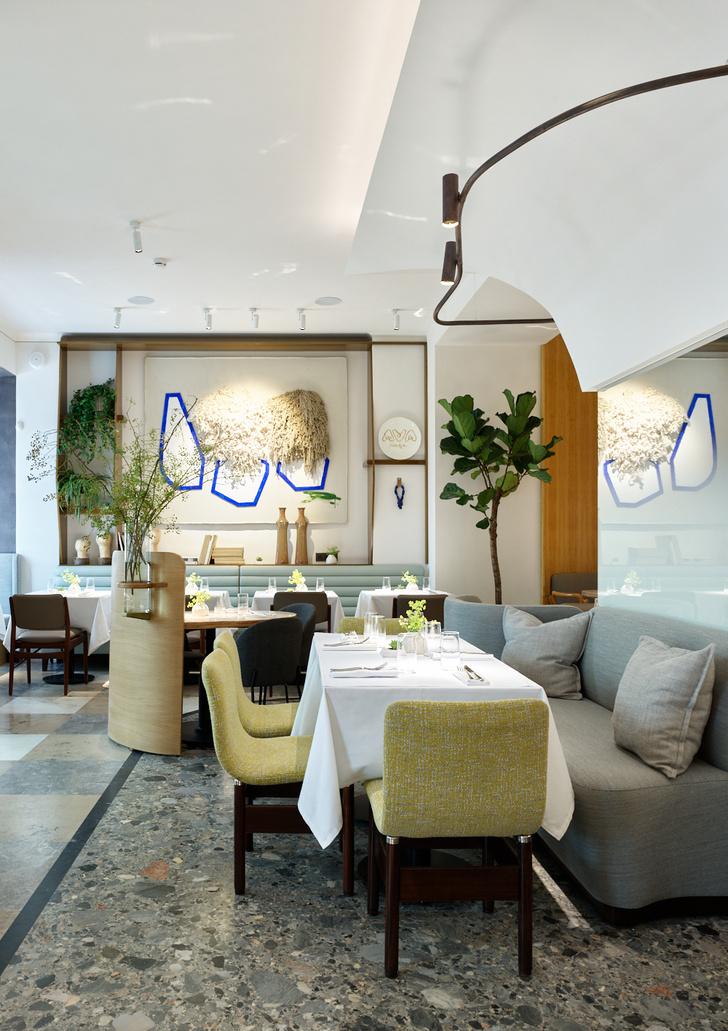 Фото №4 - Ресторан Ava Cafe по проекту бюро Geometry