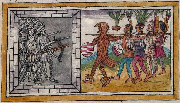 Фото №1 - Ученые выяснили, что погубило ацтеков